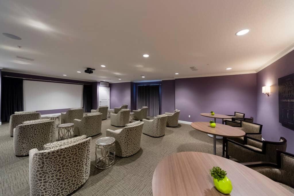 Mary Eaves Movie Room