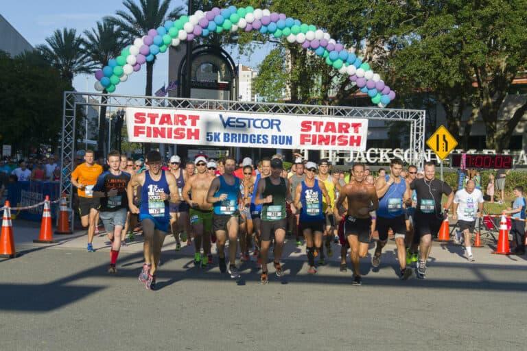 Vestcor 5K Bridges Run for Community Service