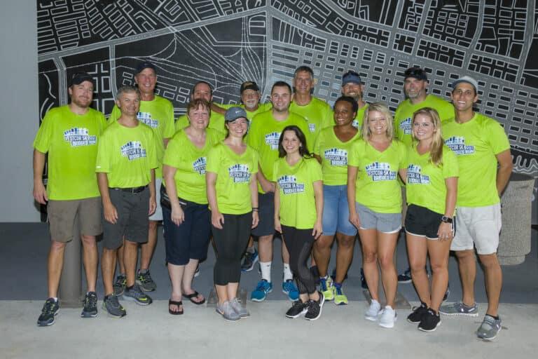 Vestcor 5K Bridges Run Group Photo