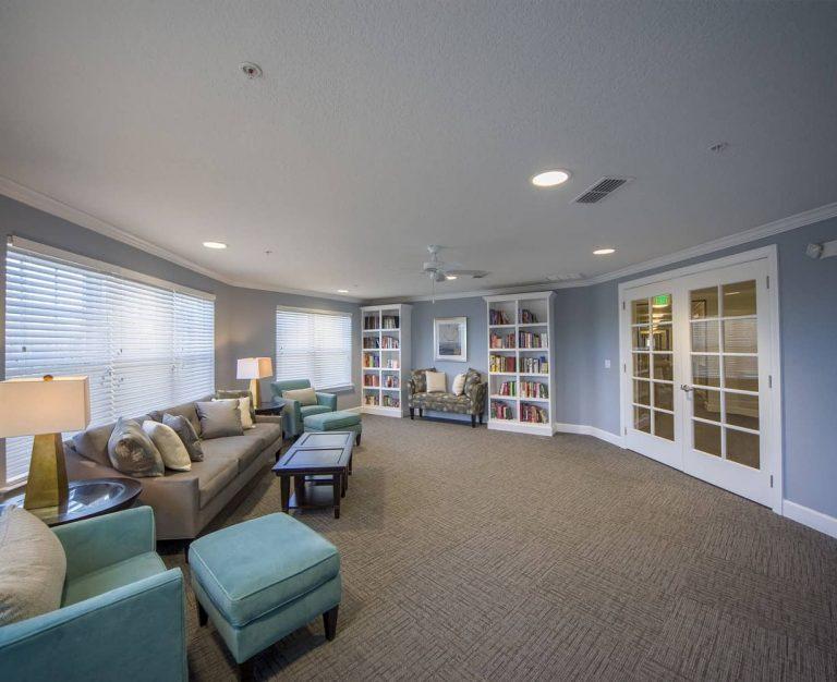Caroline Oaks Interior Sitting Room