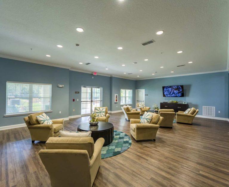 Katie Manor Interior TV and Sitting Room