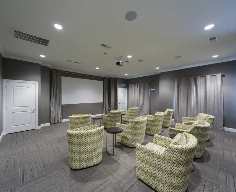 Katie Manor Movie Room