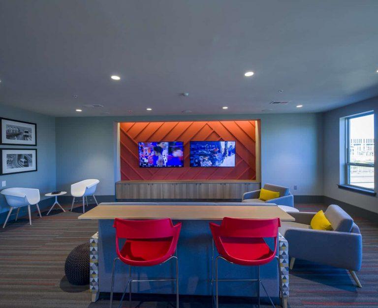 Lofts At Jefferson Station TV Room