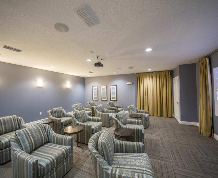 Peyton Ridge Movie Room