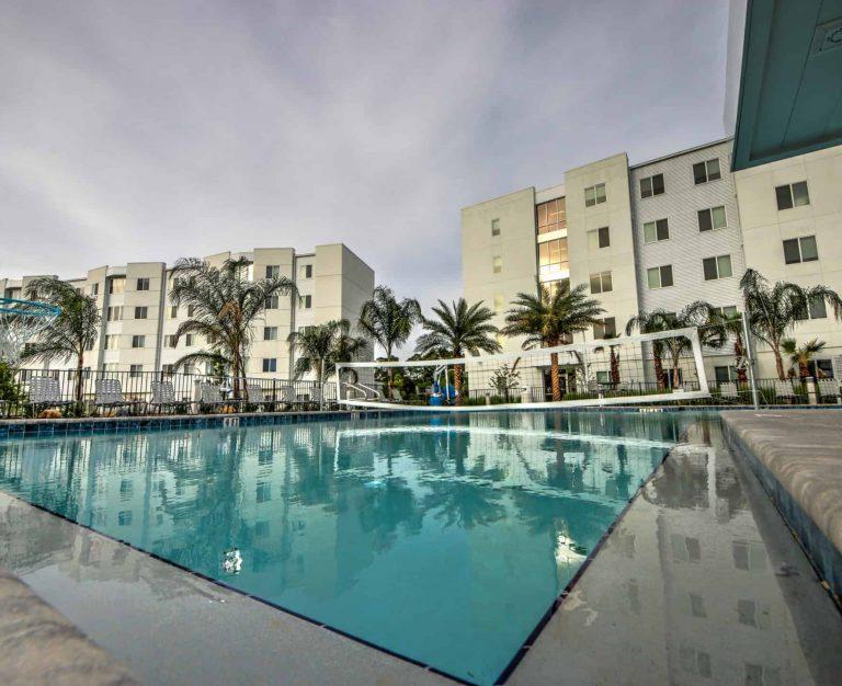Residence Hall at Florida Polytechnic Phase II Exterior Pool