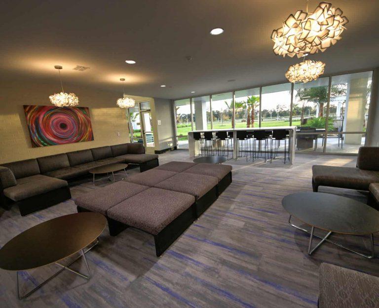Residence Hall at Florida Polytechnic Phase II Sitting Room