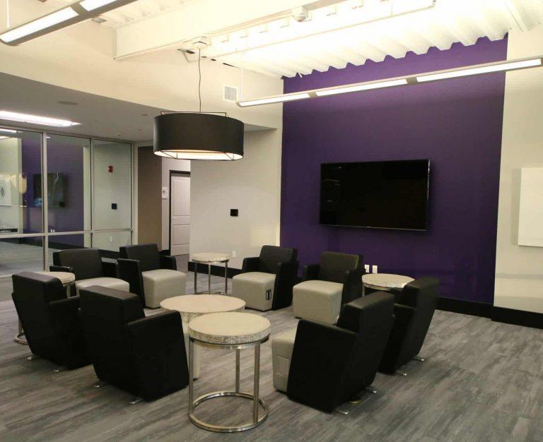 Residence Hall at Florida Polytechnic Phase II TV Room